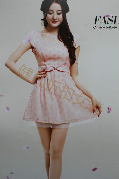 新款式原专柜正品货源春夏新款连衣裙批发