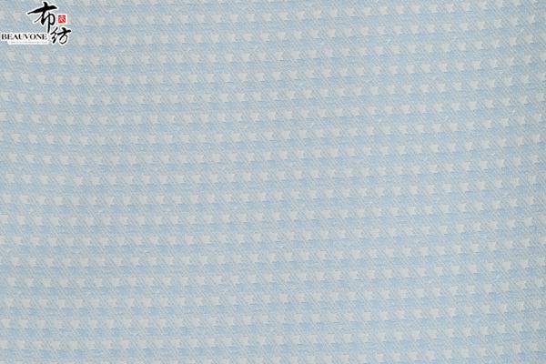 江苏服装面料布纺提花梭织色织提花面料F05215供应