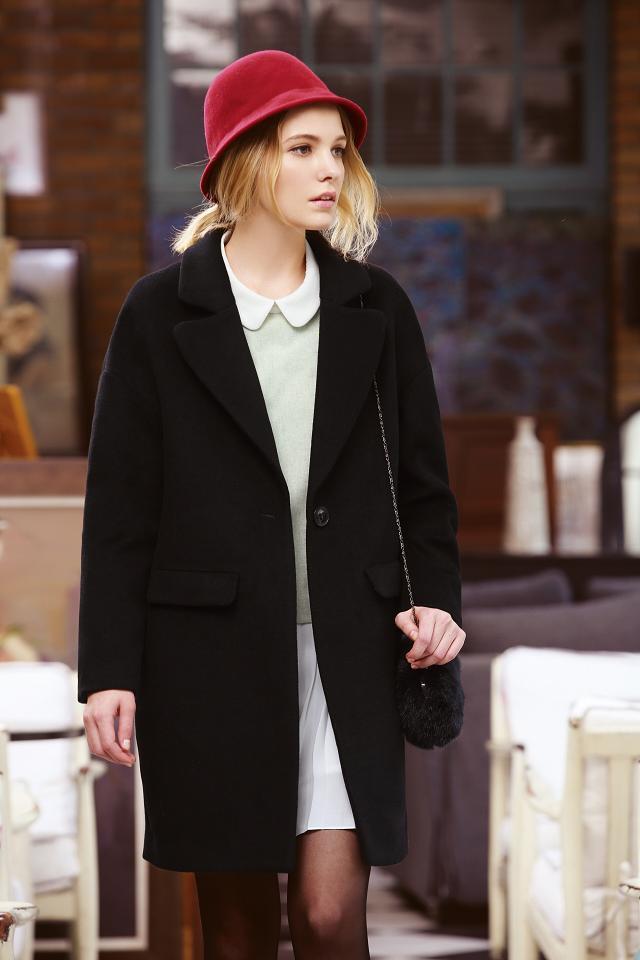 【古姿语】时尚百搭的长款风衣帮你抵御寒冷的冬季诚邀加盟