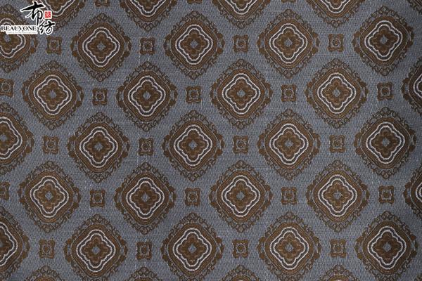 北京布衣纺色织提花面料F05232供应
