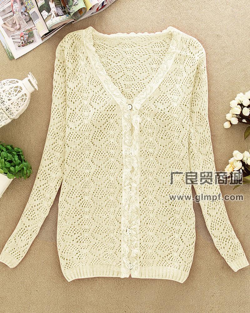韩版时尚新款流行针织衫批发市场