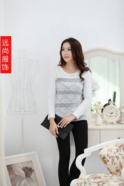 山东最好卖价格最便宜韩版女装T恤批发
