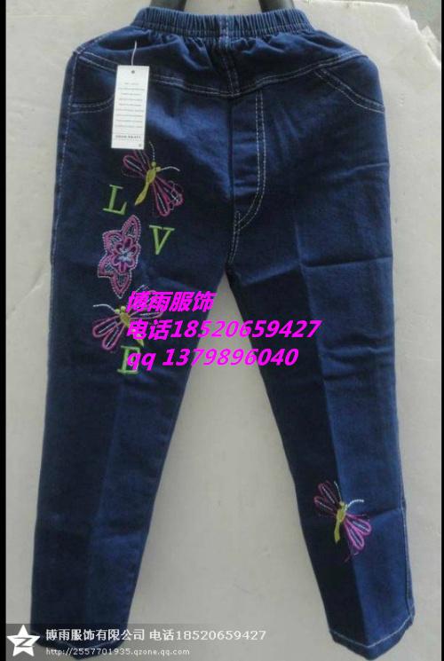 广州儿童春季薄款牛仔裤批发