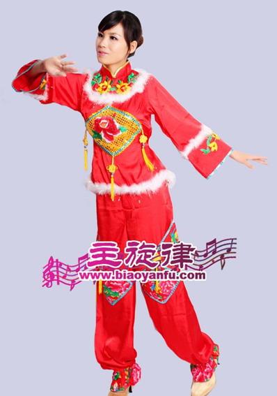 天津主旋律年会服装民族服装舞蹈服装古代服装租赁