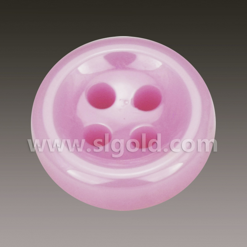 粉色陶瓷时尚纽扣批发