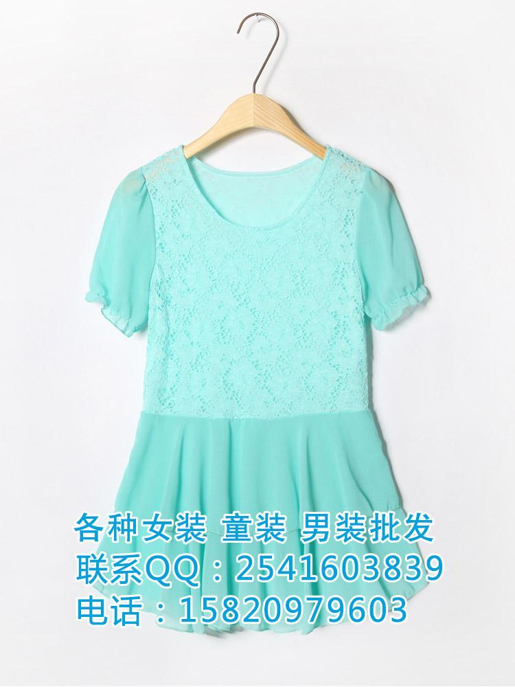 夏季雪纺衫吊带夏季T恤裙子批发