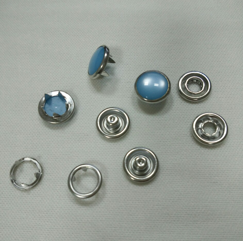 唐氏厂家生产供应衬衣珠面五爪扣大衣外套五爪扣
