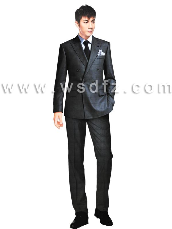 2015韩版个人西装定制