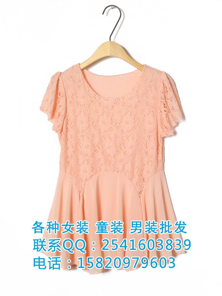 杭州兰州韩版女装雪纺衫批发