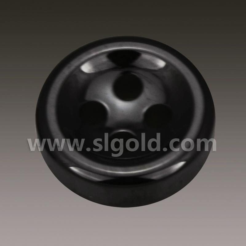 黑色陶瓷百搭纽扣供应