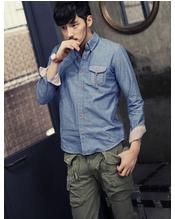 韩版男装衬衫广州服装批发市场
