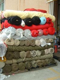 回收库存服装布料