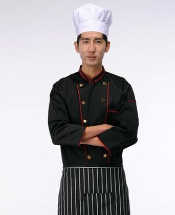 自贡款式最好的厨师服厂家定做