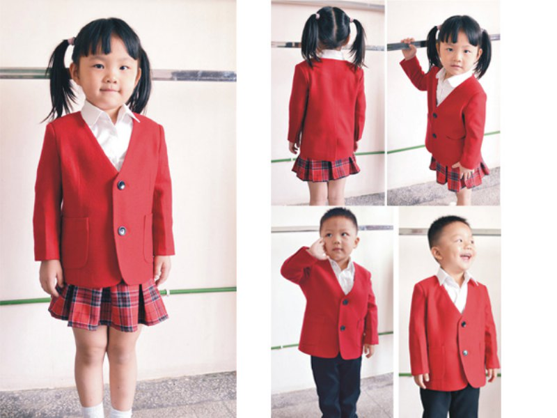 亮丽的威海校服,最优惠的威海校服定做批发