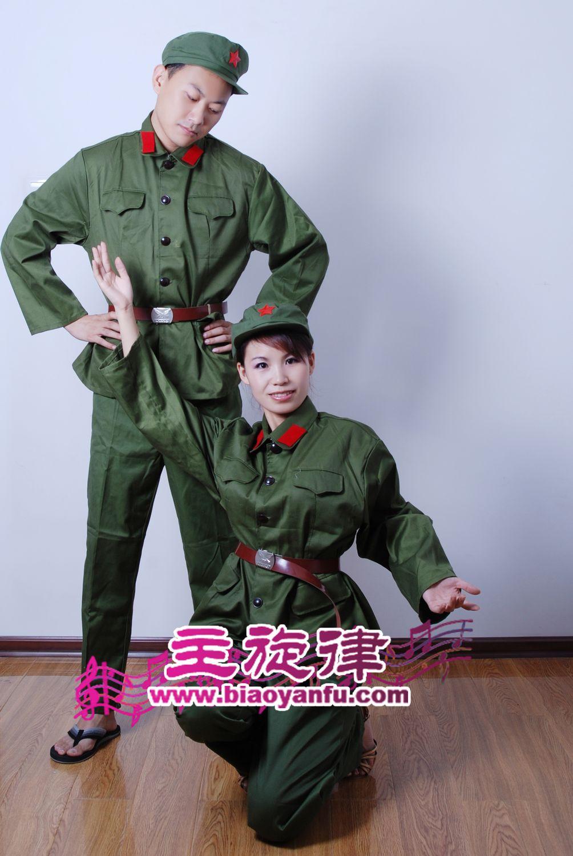 天津红军演出服出租