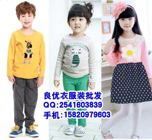 春夏季儿童服装批发