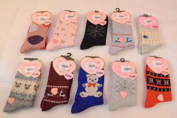 袜酷专卖供应价格合理的爱丽丝梦男女短袜