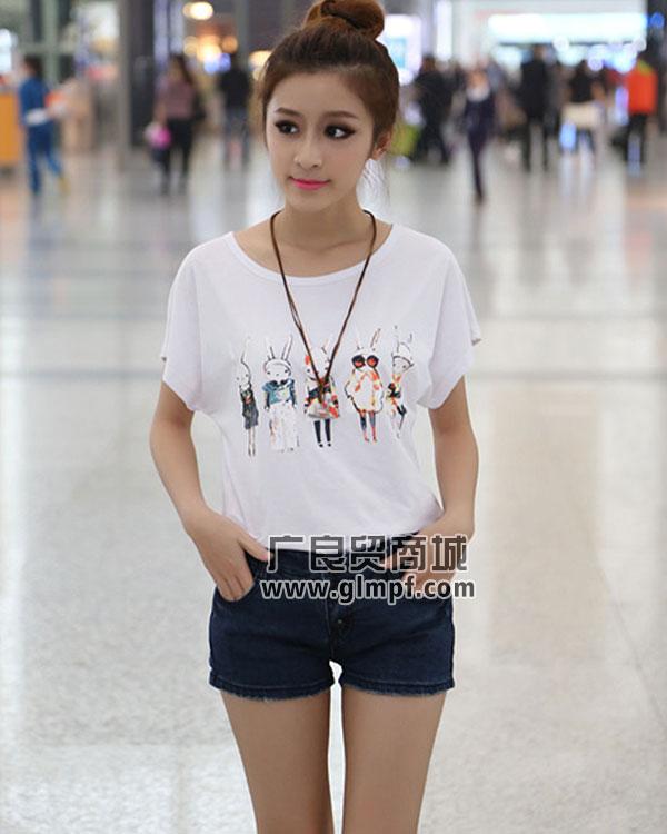 时尚韩版女装T恤批发