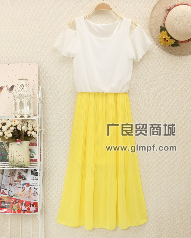时尚雪纺长裙短裙批发