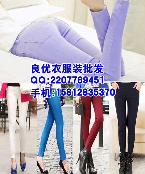 广西时尚春夏季裤子批发