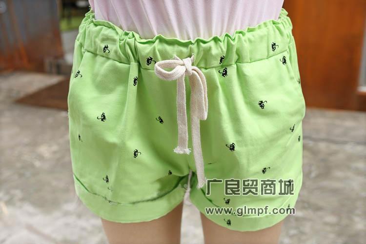 韩版时尚女短裤批发