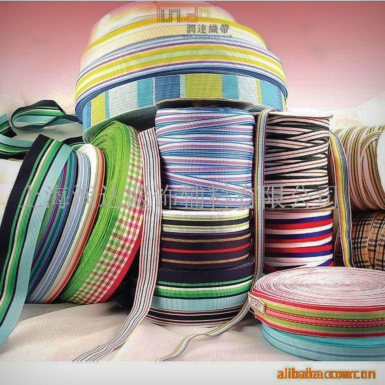 厂家专业生产高档服饰织带批发