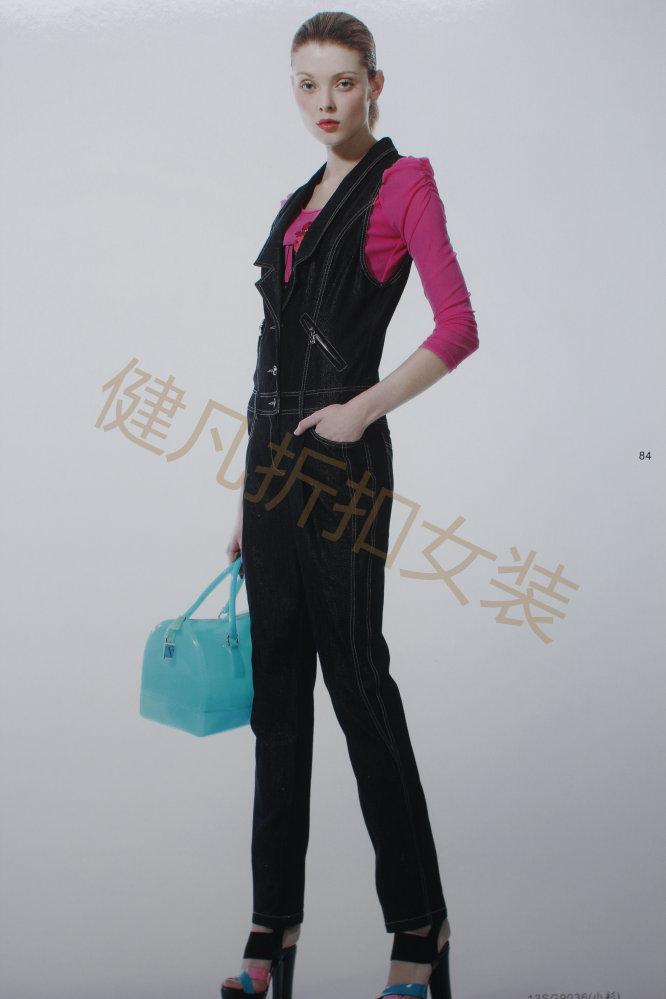 广州女装品牌女装库存女装份货批发