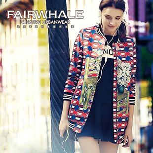 MARK FAIRWHALE马克华菲 创意都市女装