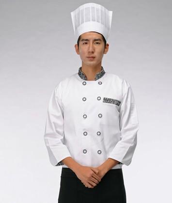 南充厨师服定做批发