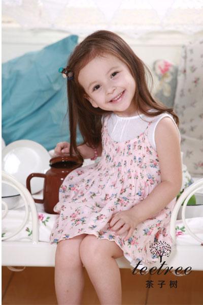 韩版知名儿童服装茶子树诚邀加盟