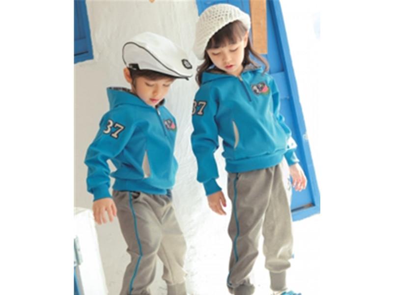 韩版英伦风幼儿园园服爆款中小学生春秋校服套装供应