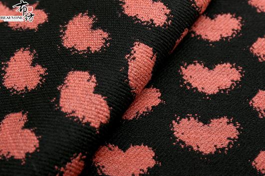 广州最新韩版色织梭织大提花布厂家供应
