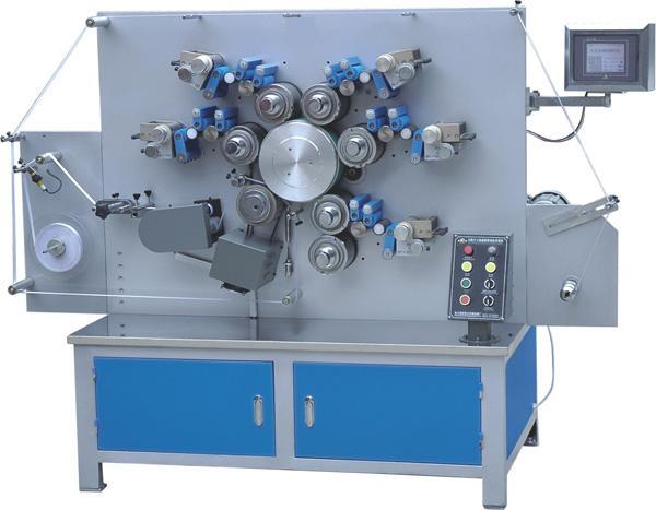 MHL-1005SK五色双面数控轮转商标印刷机厂家供应