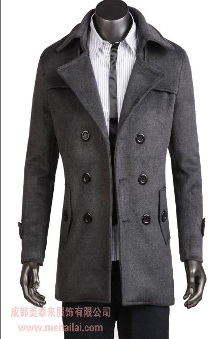 供应成都价位合理的毛呢大衣定做