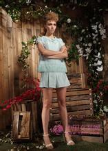 上海费依时装修身连衣裙折扣女装货源批发