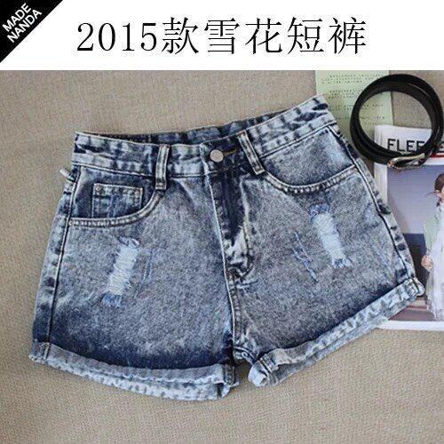 夏季便宜牛仔短裤低价清仓批发