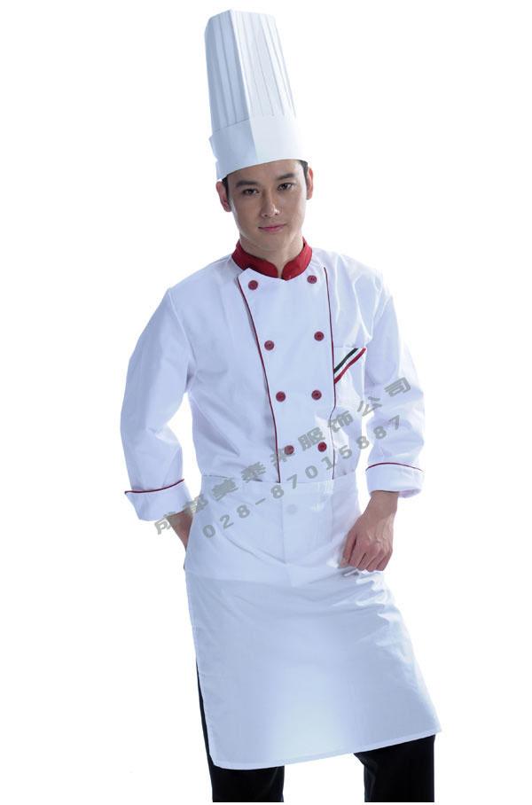 温江酒店服厨师服定做批发