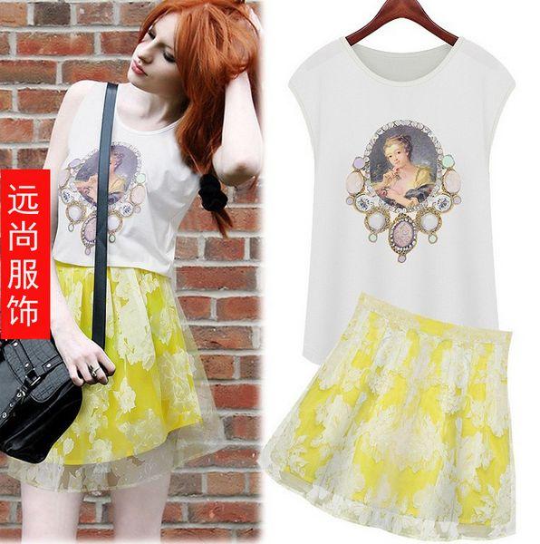时尚流行夏季服装批发