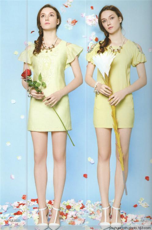 相约四季夏装新款杭州知名品牌女装折扣批发