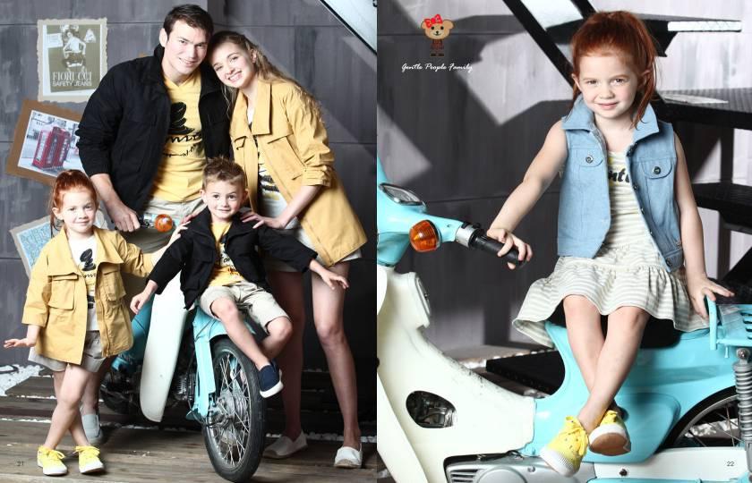台湾时尚亲子装,上流家族品牌诚邀加盟