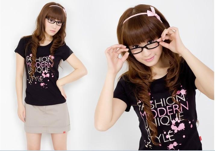夏装女装休闲短袖T恤批发