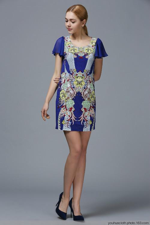 法兰妃夏装新款品牌女装深圳高端时尚女装批发