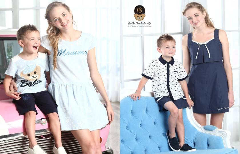 上流家族亲子装是漂亮妈妈与子女的最佳选择,诚邀加盟