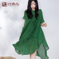 深圳斯玫服饰供应时尚棉麻品牌丘吉古儿低价促销