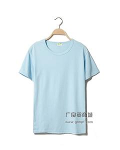 5.8元纯棉纯色短袖女T批发