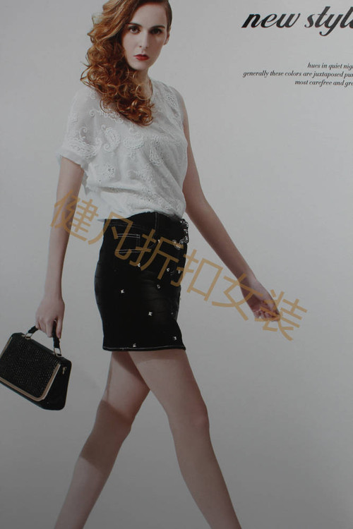 品牌精品女装中高档专柜折扣批发