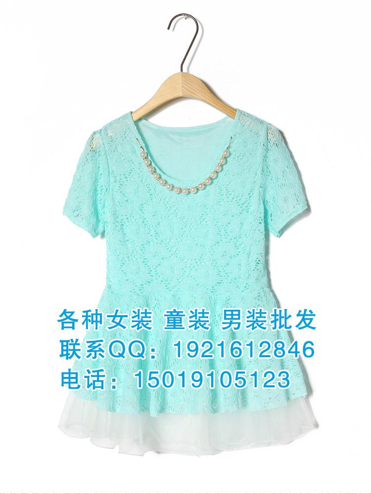 广东时尚雪纺连衣裙批发