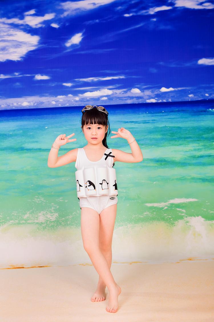 2015年新品热销德国beverly kids男童女童漂浮游泳衣