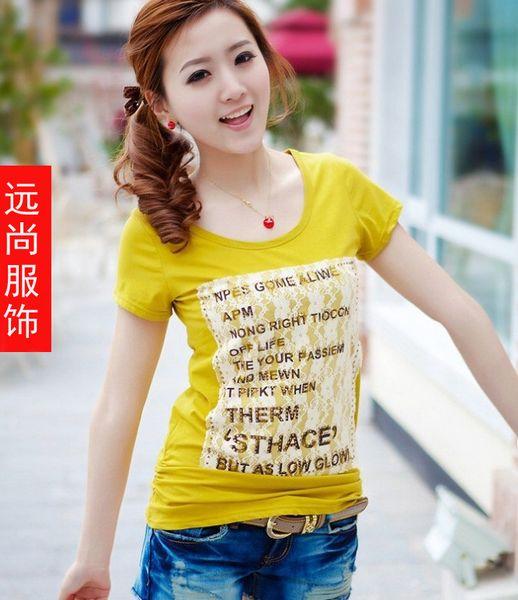 韩版女装T恤批发