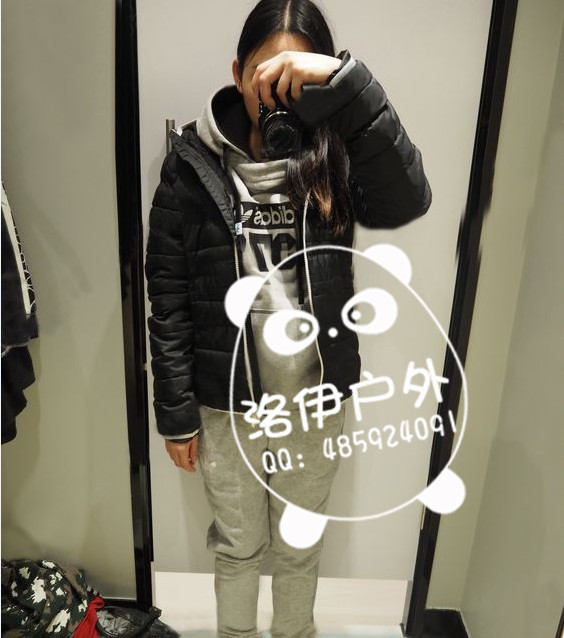 便宜的adidas三叶草女加绒卫衣M69933批发